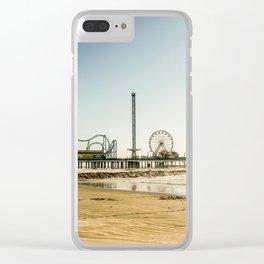 Pleasure Pier Clear iPhone Case