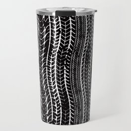 Tire Marks Car Bike Trucker Travel Mug