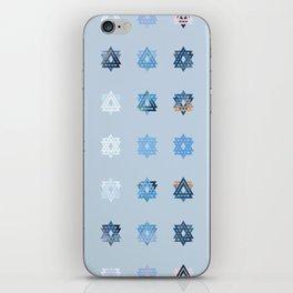 Triniti Snow Crystal (light blue) iPhone Skin