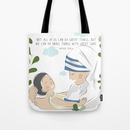 Do little things with love Tote Bag