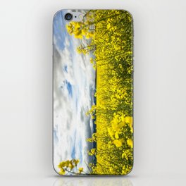 Fields of yellow - Floral Photography #Society6 iPhone Skin