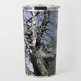 SUN-BLEACHED WINDSWEPT JUNIPER Travel Mug