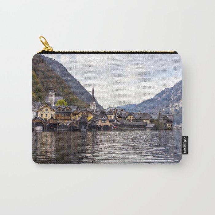 Hallstatt lake  Carry-All Pouch