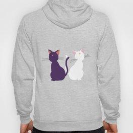 Luna & Artemis (Minimalist) - Purple Hoody