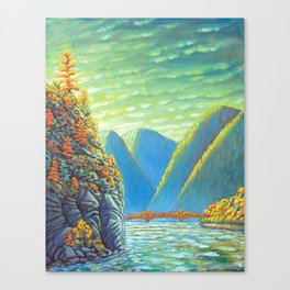 Nelson Lakeview Canvas Print