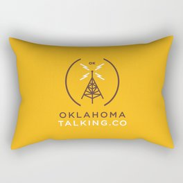 Oklahoma Talking Co.  Rectangular Pillow