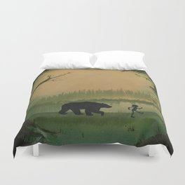 The Jungle Book by Rudyard Kipling Duvet Cover