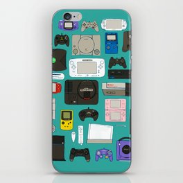 Game square iPhone Skin