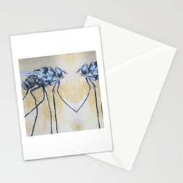 Fly On the Mirror Stationery Cards