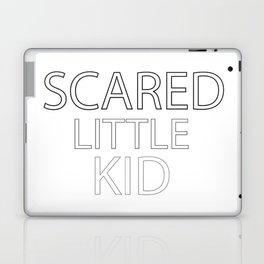 Scared Little Kid Laptop & iPad Skin