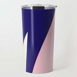 Abstract Blue #blue #artdeco #fresh #spring #minimal #art #design #kirovair #buyart #decor #home Travel Mug