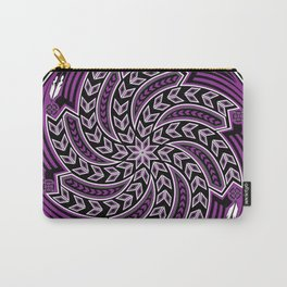 Wind Spirit (Purple) Carry-All Pouch