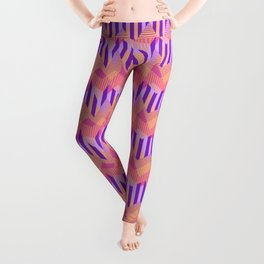 ZigZag All Day - Pink Leggings
