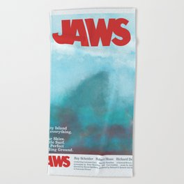 Jaws Beach Towel