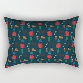 Lumberjack Things Rectangular Pillow