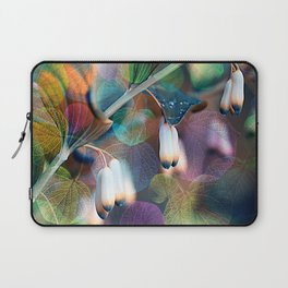 Floral abstract(48). Laptop Sleeve