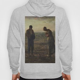 The Angelus by Jean Francois Millet Hoody