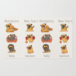 New Years Resolutions with The Pug Rug
