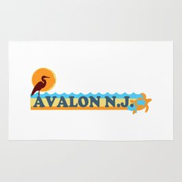 Avalon - New Jersey. Rug
