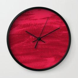 Mood Strokes Wall Clock