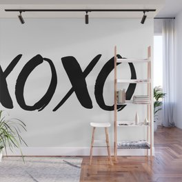 XOXO - Hugs and Kisses Wall Mural