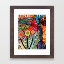 les vivaces Framed Art Print