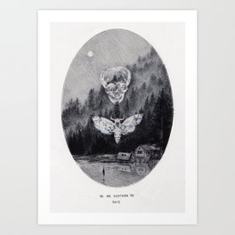 Dismissal Art Print