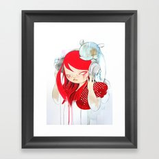 That Bass! Framed Art Print