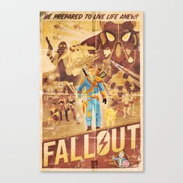 FALLOUT FAN ART Canvas Print