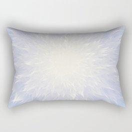 Mandala Flower || Blue Rectangular Pillow