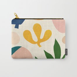 Abstraction_Floral_001 Carry-All Pouch