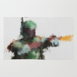 Bounty Hunter: Boba Fett Rug