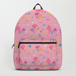 Fun Guy in Pink Backpack