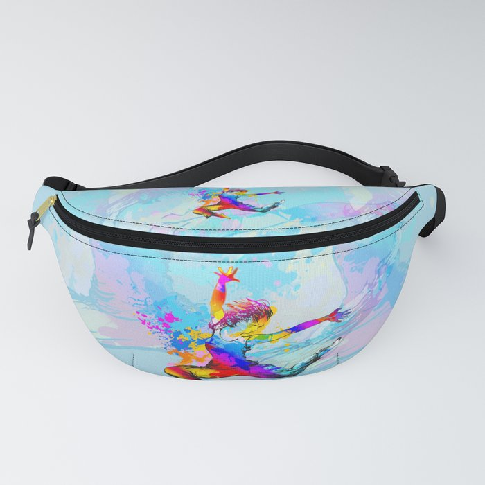 Hip hop dancer jumping Fanny Pack