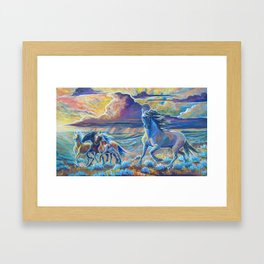 time to move Framed Art Print