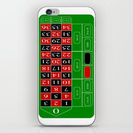 Roulette Table iPhone Skin