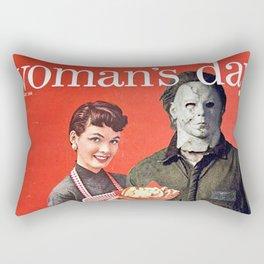 Michael Myers as Good Father Rectangular Pillow