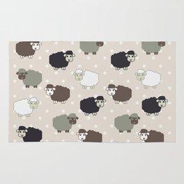 Counting sheep Rug