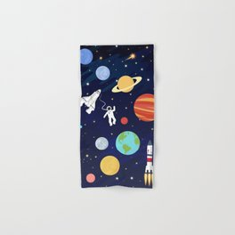In space Hand & Bath Towel
