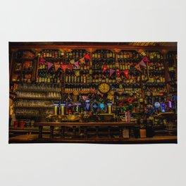 Old Irish Pub Rug
