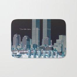Twin Towers Bath Mat