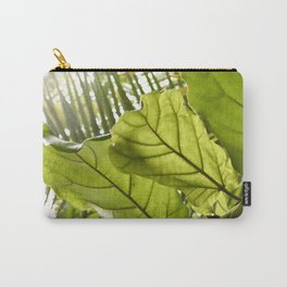 Tropical vibes leaves - Summer Light Carry-All Pouch