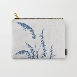 Blue flowers 2 Carry-All Pouch