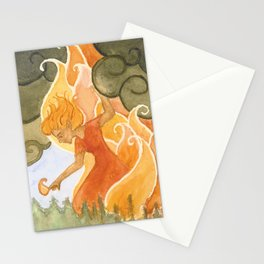 Forest Fire (Weatherwoman #3)  Stationery Cards