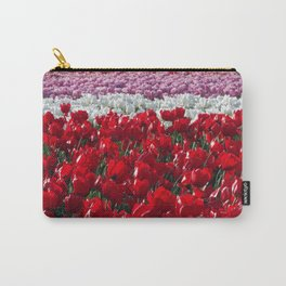 Parade of Tulips Carry-All Pouch