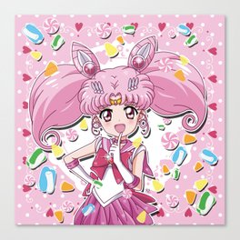 Sailor Candy Canvas Print