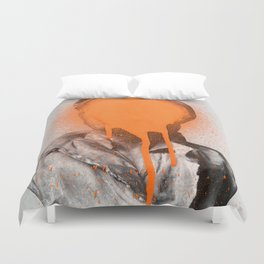 Busted 2 Duvet Cover