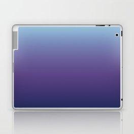 Ombre Blue Ultra Violet Gradient Pattern Laptop & iPad Skin
