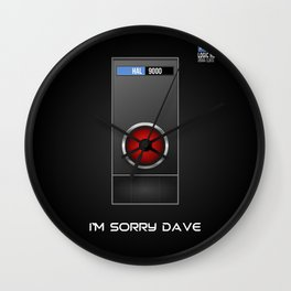 I'm Sorry Dave Wall Clock
