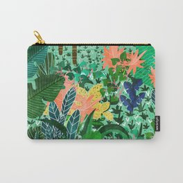 Dense Forest Carry-All Pouch